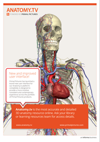 Anatomy.tv in your library Poster 3, new UI
